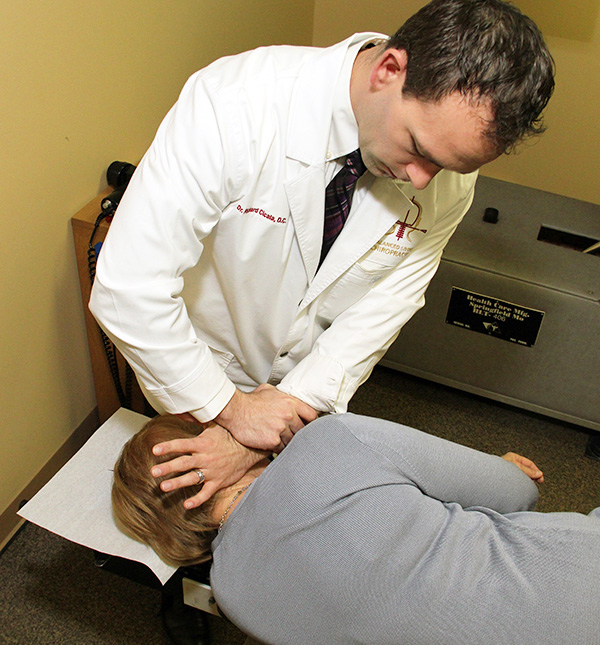 NUCCA chiropractic adjustments are painless